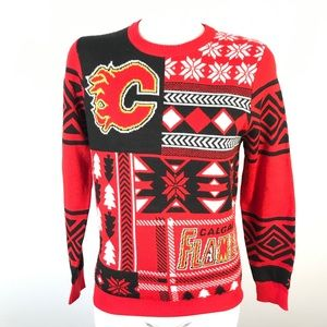 NHL Calgary Flames ugly sweater